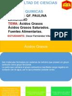 Diapositivas de Biologia Acidos Grasos