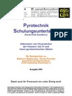 Feuerwerkschulung Kl IV PyroG74