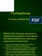 Chapter 13 - Psychopathology - Incomplete