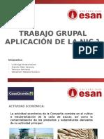 aplicación NIC 1