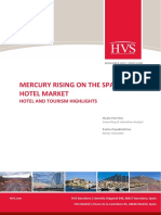 HVS - Mercury Rising on the Spanish Hotel Market - Hotel and Tourism Highlights