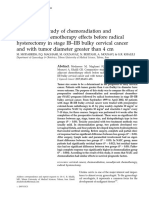 Comparative Study of Chemoradiation And
