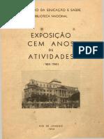BN - Exposições 1952