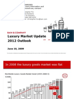 Bain Luxury Market Survey