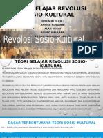Teori Belajar Revolusi Sosio-kultural