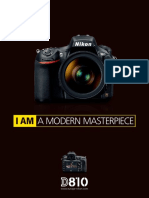 Nikon D810 Prospekt En