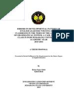 Retno Fajar Satiti Thesis Proposal 0203514018
