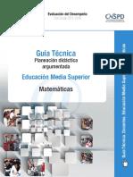 1 Guia Tecnica Planeacion Matematicas Ems
