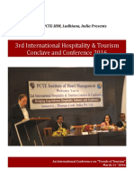 3rd International Hospitality & Tourism Conclave