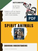 Spirit Animal Intro  dflkajd;lfjald;fjkajd;fjad;lfja;ldfja;dfjads;fj;dskjfa;dfj;adf