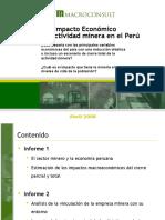 Impacto Economico de La Actividad Minera en El Peru