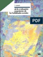 Caballo Vicente - Manual Habilidades Sociales