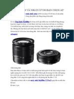 Sony a6000 Và Nikon d7100 Bạn Chọn Ai