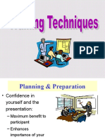 Training Techniques Construction