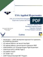USA Applied Hypersonics T. Jackson