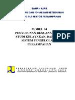 2 Penyusunan Rencana Induk & Studi-Kelayakan Dan PTMP Sampah (MODUL-4)