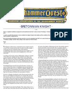 Warhammer Quest Characters] Bretonnian Knight