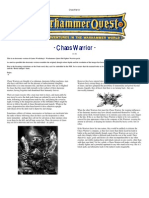 Warhammer Quest Characters] Chaos Warrior