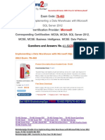 [PDF&VCE]Braindump2go New 70-463 Braindump 41-50