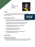 Danica Resume