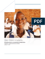Girls Shine Academy Vision Document