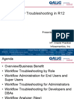 Workflow Troubleshooting 2012