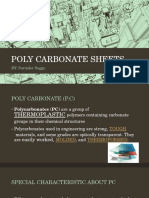 Poly Carbonate Sheets
