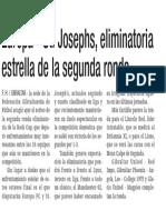 160119 La Verdad CG-Europa - St. Josephs, Eliminatoria Estrella de La Segunda Ronda p.14