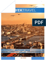 Yektravel Winter 2016 Istanbul Package Update 19.01.2016