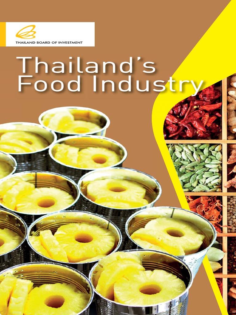 Thailand - Kitchen of the World | Hazard Analysis And Critical