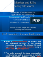 RNA Structure more