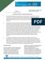 Actualización Previsiones FMI  enero 2016