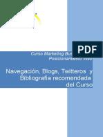 Navegacion Bibliogafia y Twiteros