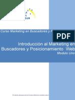 Modulo Uno Introduccion Marketing Buscadores