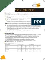 Manual Gavita Pro 750e - 1000e de EU V15-51 HR