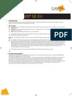Manual Gavita Pro 600e SE EU V15-51 HR