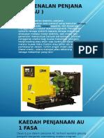 Pengenalan Penjana Ac ( Au ) Generator