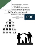 Referat Psihologia Familiei