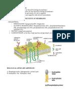 Lipid Movement Biochem