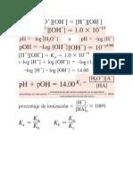 Acidos y Bases formulario