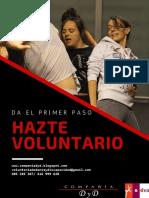 Programa Voluntariado Danza y Discapacidad 2016-2017. Compañía DyD (Danza y Discapacidad)