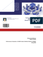 Book on Performance Valuation of AODV Un