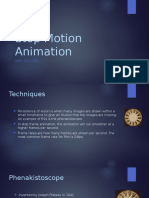 stop motion animation presentation