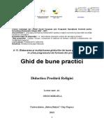 Didactica Predarii Religiei - Mihaela Oros