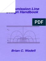 Transmission Line Design Handbook Brian c Wadell