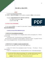 Estructuraoracional Modalidadesoracionales(1º v)