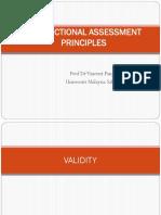 1 Assessment Principles