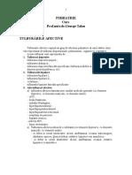 Psihiatrie - Curs Prof.talau
