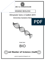4. Kunci & Pembahasan - Biologi