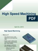 16 High Speed Machining